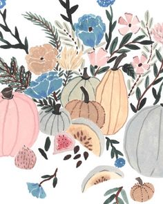 "2,221 Likes, 9 Comments - Sara Boccaccini Meadows (@boccaccinimeadows) on Instagram: ""It's Decorative gourd season!!  I painted a poster for Drawing Club in Sheffield this Friday.…"""