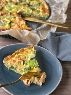 Pasta, Frittata, Healthy Recipes, Healthy Food, Quiches, Veggies, Food And Drink, Lunch, Fish