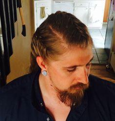 Man Viking hair!