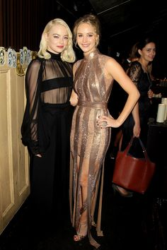 Emma Stone And Jennifer Lawrence Are The Most Fashionable Friends | HuffPost