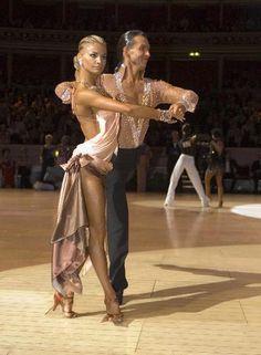 Every time I see this dress I melt a little inside. Yulia Zagoruychenko and Max Kozhevnikov Rumba