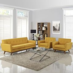 Gently sloping curves and large dual cushions create a favorite lounging spot. Whether plopping down after a long day at work, settling in with coffee and brunch, or entering a spirited discussion with friends, the Engage sofa is a welcome presence in you Sofa Set Designs, Sofa Design, Interior Design, Furniture Sofa Set, Modern Furniture, Furniture Online, Furniture Stores, Luxury Furniture, Living Room Sofa