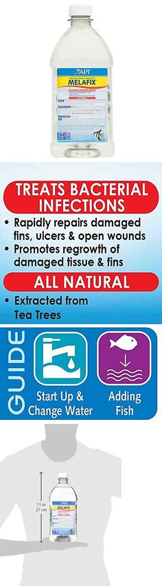 Health Care 177798: Api Melafix Freshwater Fish Bacterial
