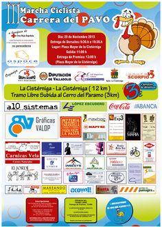Un año más colaboramos en la III Marcha Ciclista Carrera del Pavo a beneficio de Cruz Roja Española