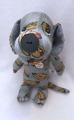 Original Sock Dog Nathan Stuffed Animal Dog by originalsockdogs