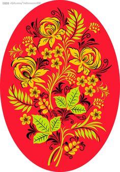 Шаблоны для росписи в фолк стиле. Обсуждение на LiveInternet - Российский Сервис Онлайн-Дневников
