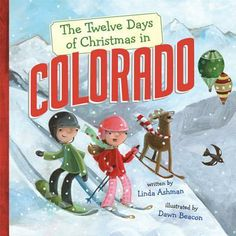 """Mermaids by the Sea Toys - """"Twelve Days of Christmas Colorado"""" Hardcover by Ashman, $12.95 (http://www.mermaidsbytheseatoys.com/twelve-days-of-christmas-colorado-hardcover-by-ashman/)"""