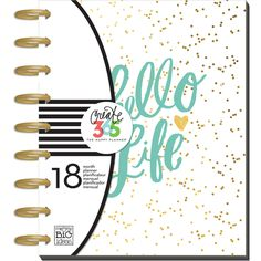 Found it at Blitsy - Create 365 Classic Happy Planner - Hello Life
