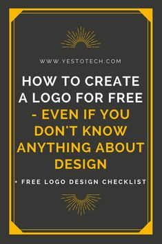 Hiring a professional designer to create a logo for you may be out of question when you are an entrepreneur or a small business owner who is just starting out. What if I told you that it is possible to create a logo yourself, for free, even if you don't know anything about design? Sound too good to be true? Well, think again, because that is exactly what you are going to learn today. Click here to discover how you can create a logo for free - even if you don't know anything about design