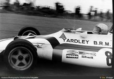 1971 Dutch GP, Zandvoort : Pedro Rodriguez, BRM P160 #8, Yardley Team BRM. 2nd. (ph: Historic Photographs)