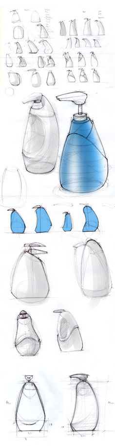 Detergente Ypê em Gel - Projeto Conceito by Stefan von der Heyde Fernandes, via Behance