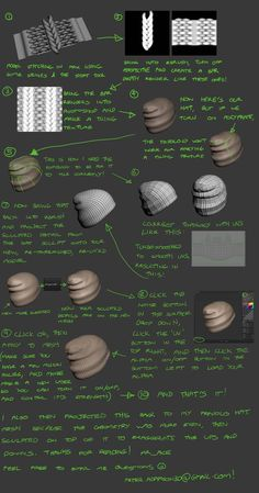 Zbrush cloth tiling for Hats, etc. Tutorial Zbrush, 3d Tutorial, Blender 3d, Sculpting Tutorials, Art Tutorials, Snowboard Girl, Digital Sculpting, Modeling Tips, Modelos 3d