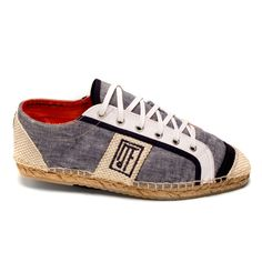 Espadrilles=the most comfortable shoes in the world. Dude, if they came in my size...
