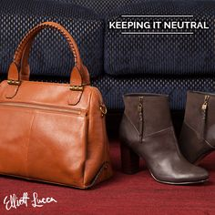 A classic everyday satchel, the Olvera is a must-have this Fall. Rock it with a pair of Dafne High Heel Booties for a sleek and effortless style. Shop the look!