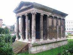 Temple of Portunus ( Fortuna Virilis ) 120 - 80 BC. Located in Forum Boarium - Roma File:Roma - Tempio di Sacred Architecture, Roman Architecture, Religious Architecture, Historical Architecture, In Ancient Times, Ancient Rome, Temple, Roman Art, Acropolis