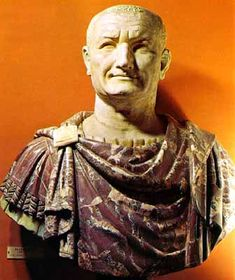 Vespasian - the ninth emperor of Rome. He brought stability after the year of four emperors.