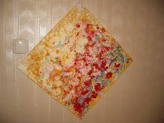 Jasmina Vladimirova 046 Bouquet japonais 50x50 cm Huile sur toile Collection privée