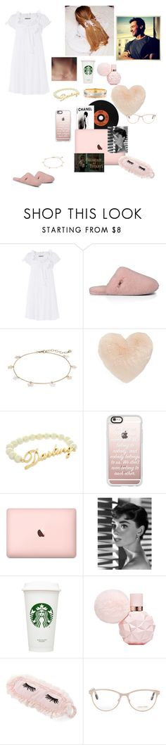 """""""Daydream away"""" by mariaxl ❤ liked on Polyvore featuring Three Graces, UGG Australia, LC Lauren Conrad, Nordstrom, ASOS, Casetify, Tiffany & Co., Tom Ford and hughjackman"""
