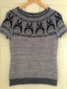 Totoro sweater.