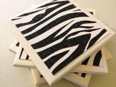 Hey, I found this really awesome Etsy listing at https://www.etsy.com/listing/119713352/handmade-black-white-glitter-zebra-print