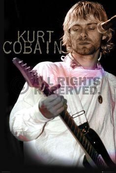 Poster: Kurt Cobain - cook online te koop. Bestel je poster, je 3d filmposter of soortgelijk product Maxi Poster