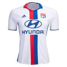 Olympique Lyonnaise 16/17 Home Soccer Jersey - WorldSoccershop.com | WORLDSOCCERSHOP.COM