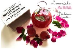 Raspberry lemonade with ginger and mint .... perfect refreshment for summer