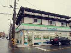 군산 일본식 가옥과 패밀리마트