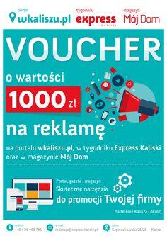 Voucher na reklamę | Pink Elephant | www.pinkelepahnt.pl