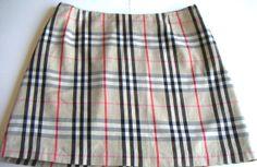 Vintage Burberry Mini Skirt. Burberry London. Burberry by QVintage, $95.00