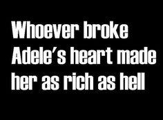 haha true true!