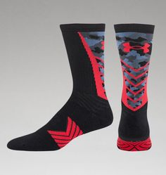 Boys' UA Undeniable Camo Crew Socks | Under Armour US