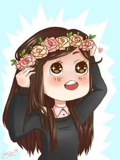 emoji with flower crown - Google Search