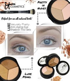 An Anti-Aging Eyeshadow?!?! Yes Please! From It Cosmetics of course!   #beauty   #beautyblogger   #makeup   #itcosmetics   #eyeshadow   #antiaging   #bbloggers