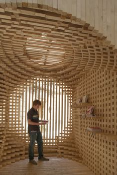 Pavilion for the Festival of Lively Architecture by AtelierVecteur.