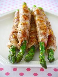 アスパラの豚チーズ巻き♪黒こしょうレモン味 & 妄想料理パラダイス!