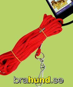 3 mm nylonlina som du kan binda upp hunden i.