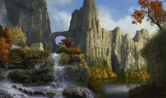 Resultado de imagen de elven forest city