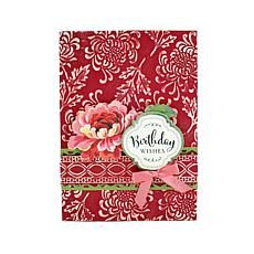 Anna Griffin Embossed Floral Card