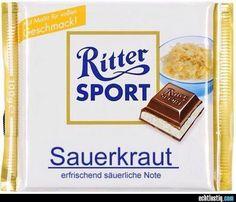 #ritter sport - sauerkraut