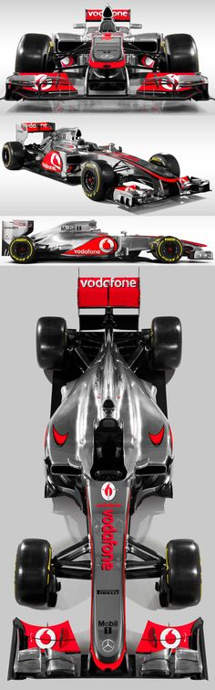 McLaren F1 for 2013.It isn't working well this year.I think Lotus Gp is better than this Team now,but don't be sure about that.