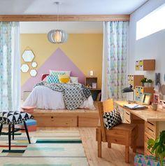 Dormitorios espaciosos y luminosos