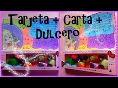 Tarjeta+Carta+Dulcero//Card + Letter +sweet Detalles Para Novio