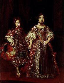 Erziehung eines Kurprinzen im 17. Jahrhundert. Max Emanuel und seine Schwester.