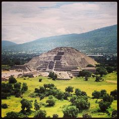 Pyramid of the Moon in Teotihuacan, México. I went when I was 5 and still remember how incredible a sight it was. Love to go back.