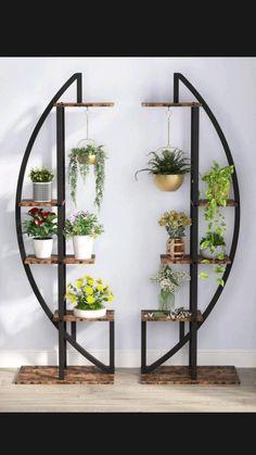 Tree House Decor, House Plants Decor, Plant Decor, Inside Garden, Inside Home, Home And Garden, Plant Shelves, Display Shelves, Display Ideas
