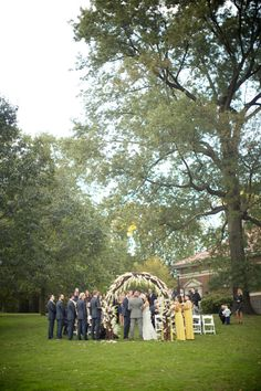 An enchanting autumn wedding at the Picnic House in Prospect Park, Brooklyn. Learn more about weddings at the Picnic House by visiting our website. www.prospectpark.org/weddings