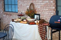 Outdoors Theme Couples Shower