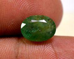 3.00ct Natural Fine Gem Quality Translucent Brazilian Ring Emerald Gemstone