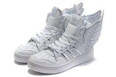 premium selection 43f26 a5881 zapatillas de deporte de las alas adidas Jeremy Scott blanco Alas, Zapatillas  Deportivas, Moda